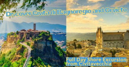 Full day excursion tour Civita di Bagnoregio and Orvieto from civitavecchia port