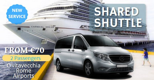 shuttle service civitavecchia port