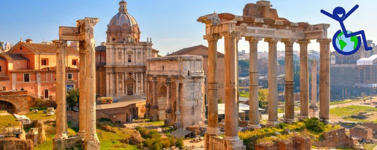 wheelchair accessible day rome tour from civitavecchia
