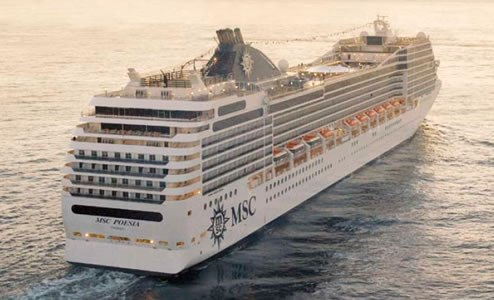 msc Poesia civitavecchia transfer