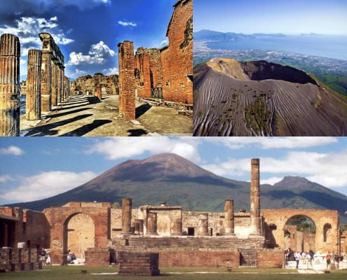 Day Tour Pompeii and Mount Vesuvius from Rome