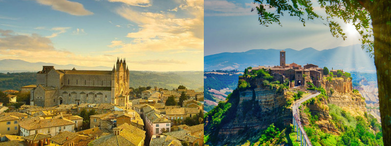Day Tour Civita di Bagnoregio and Orvieto from Civitavecchia
